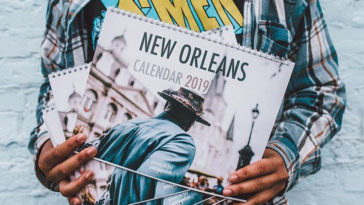 Patrick Melon 2019 New Orleans Calendar