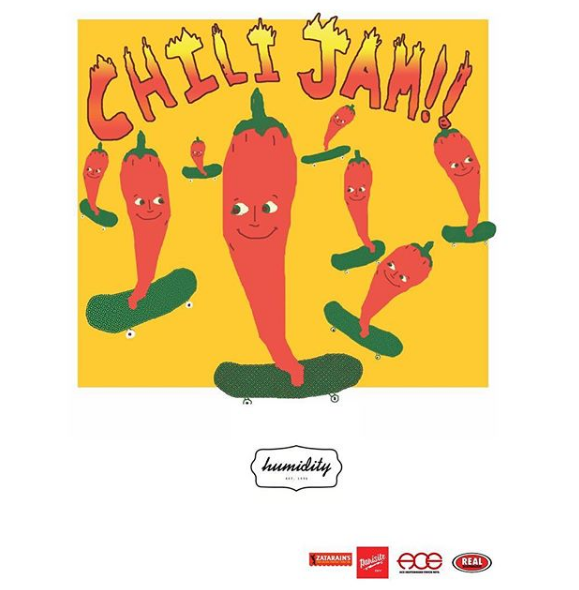 Humidity Skate Shop 2nd Annual Chili Jam