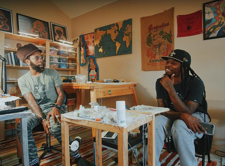 Qadamawi and Ceaux Young by Visionary Barnes
