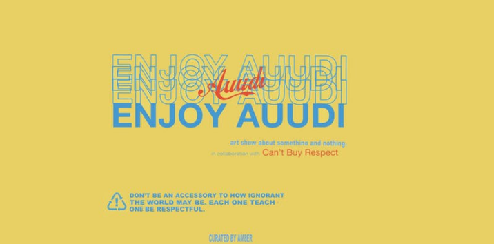 Enjoy Auudi Art Show
