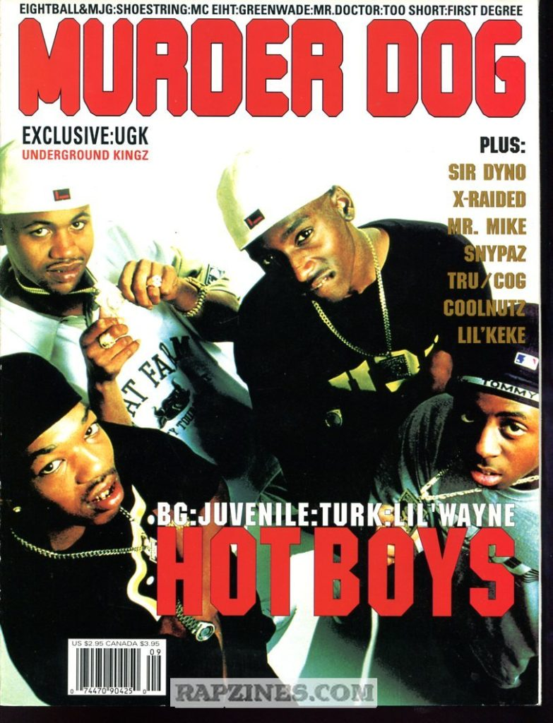 The Hot Boys Murder Dog Cover