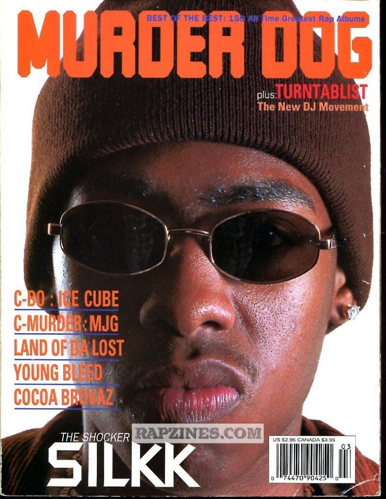 Silkk the Shocker Murder Dog Cover