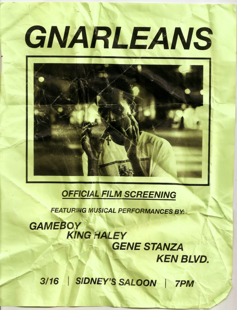 GNARLEANS - Jarred Flyer