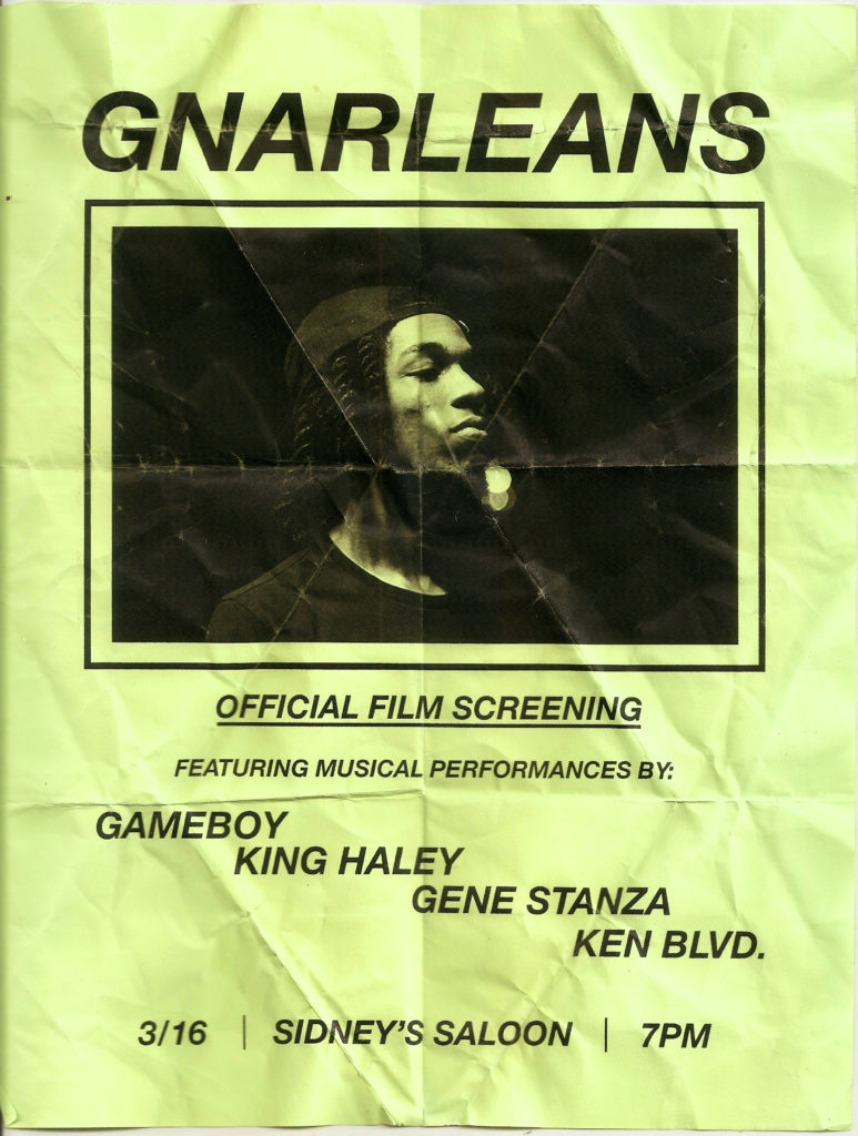 GNARLEANS Gameboy Flyer