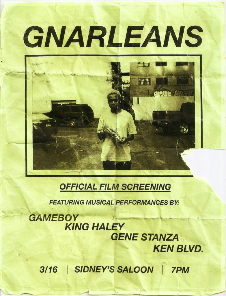 GNARLEANS Troy Flyer